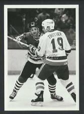 Darryl Sutter & Bryan Trottier 1986  NHL Hockey Press Photo -Sporting News