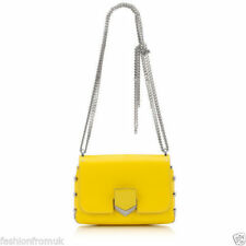 Leather Yellow Bags & Handbags for Women