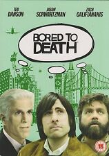 BORED TO DEATH - Series 1. Ted Danson, Jason Schwartzman (2xDVD BOX SET 2011)