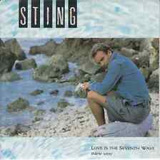 45 T SP STING *LOVE IS THE SEVENTH WAVE*