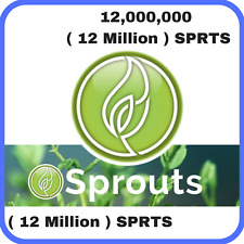 12 Million Sprouts (SPRTS) CRYPTO MINING-CONTRACT (SPRTS), Crypto Currency
