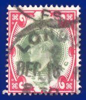 1902 SG257 1s Dull Green & Carmine M45(1) Good Used CV-FU £40 afxb