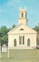 Postcard Congregational Church, Stoddard, NH