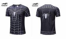 MEN T Shirt Sports Quick Dry Super Hero  Print Unique Birthday Gift Boys