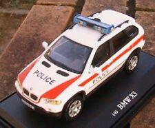BMW X5 4X4 POLICE SUISSE OLIEX 1/43 SWITZERLAND POLIZEI SWISS LHD LEFT HAND DRIV