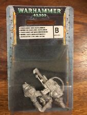 Chaos SPACE MARINE CAOS con Cannone Automatico NUOVO BLISTER METAL OOP Warhammer 40k