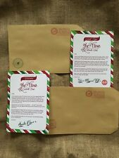 Elf On Shelf Arrival And Goodbye Letters For Your Elf (Letters Only)