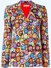 Auth Stylish New Emilio Pucci Floral Print Blazer, IT40/UK8 - recent collection
