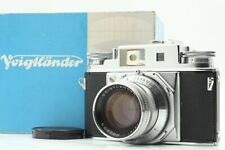 【ULTRA RARE TOP MINT】 Voigtlander Prominent II + NOKTON 50mm F/1.5 JAPAN #0968
