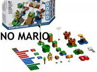 NO MARIO OR BOX READ Lego Super Mario 71360 Adventures Starter Course New