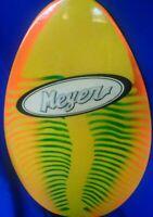 Meyer Brand Full Board Vintage Wood Skimboard Body Boogie Board