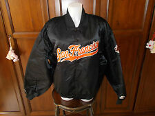 Authentic San Francisco Giants Vintage Starter Bomber Jacket Tg XL, SIZE XL