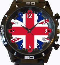 Flag Of United Kingdom New Gt Series Sports Unisex Watch