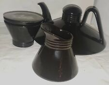 BEAUCEWARE CANADA GOYER-BONNEAU THEIERE TEAPOT No. 4368 4 TASSES SUCRIER CREMIER