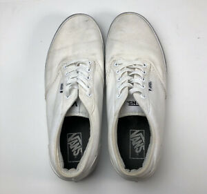 Vans (Atwood) Era White Pewter Sneakers Canvas Shoes Mens Size 11 Skateboarding