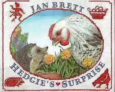 HEDGIE'S SURPRISE – Jan Brett - Hedgehog & Hen Story - 2000 Hcvr DJ 1st