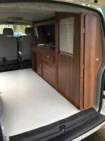 Camper Kitchenette, Campervan Conversion Pod Unit, VW T5, volkswagen, kitchen