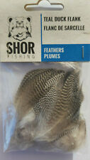 SHOR TEAL DUCK FLANK  ( NAT)   Fly Tying Feathers
