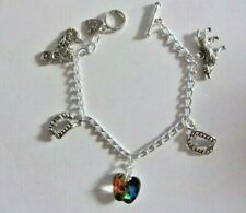 Twilight, Vampire, Wolf Inspired Charm Bracelet ( Hand made )