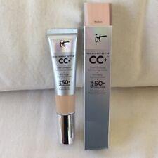 It Cosmetics CC Cream Full Coverage Foundation SPF 50 LIGHT or MEDIUM Full Size
