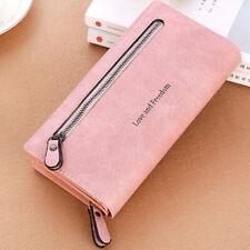 Women Lady Clutch Leather Wallet Case Purse Handbag Long Card Holder Phone Bag