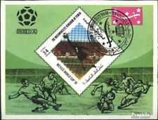 Yemen(UK) block192 (complete issue) used 1970 Football-WM ´70,