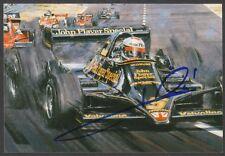 MARIO ANDRETTI Autograph Formula One Valvoline IndyCar Racing Signed 4x6 Photo