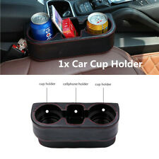 1Pcs Leather Car Seat Seam Cup Holder Food Drink Bottle Mount Storage Organizer