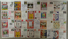 More details for 20 x sunderland first day covers all signed