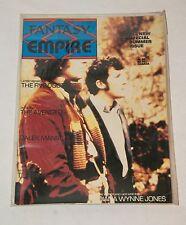 1983 FANTASY EMPIRE DOCTOR WHO THE FIVE DOCTORS MAGAZINE FANZINE