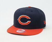 New Era One Size 950 Women Men Chicago Bears Team Navy Blue Orange Snapback