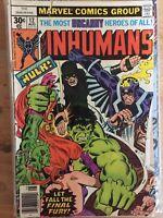Inhumans (1st Series) #12 Bronze Age 1977 Marvel Comics