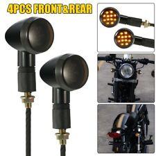 PAIR Motorcycle Black Turn Signal Indicator KAWASAKI KLX KLR KLE KLX250 KLR650