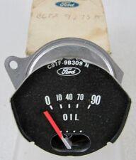 1966 1967 1968 1969 1970 1971 1972 1973 1975 1976 1977 Ford Bronco NOS Oil Gauge