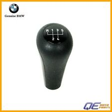 Shift Knob Plastic w/ 5-Speed Emblem Oval Style Push on Type Genuine For BMW 325