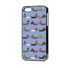 Nuevo Diseño Super Lindo Salchicha perro perro salchicha Iphone teléfono caso Libre P&P. 05