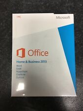 Microsoft Office 2013 Home & Business Product Key Card Online activation -Danish