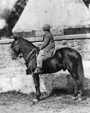 "New 8x10 Photo: 16th President Abraham Lincoln's son Thomas ""Tad"" on Horseback"