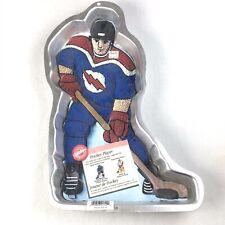 New Wilton Cake Pan Hockey Player 2105-724 Retired