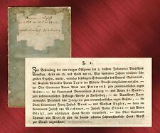 Selten: 17 Armee-Befehle, Königreich Bayern, 1811