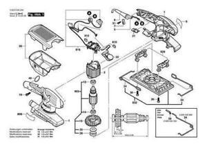 BOSCH PSS 250 AE Schwingschleifer original Bosch Ersatzteile
