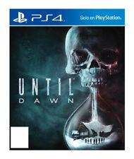 PlayStation 4 : Until Dawn VideoGames