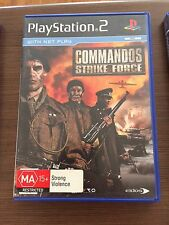 PS2, Commandos strike force,  tested, complete,  PlayStation 2, disc exc.