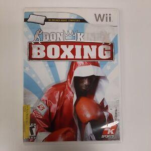 Don King Boxing (Nintendo Wii, 2009)