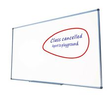 Magnetic Whiteboard 1500x900 mm Wall Mounted