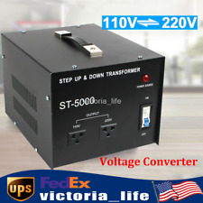 Voltage Converter Transformer Converters Step Up/Down 110V 220V 5000W
