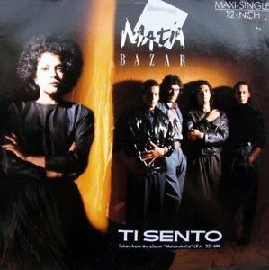 """Matia Bazar (7"""" Single) Ti sento (1986)"""