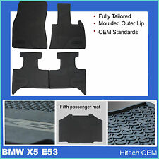 Genuine Hitech BMW X5 E53 1999-2007 Fully Tailored Rubber Mats