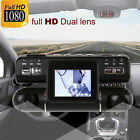 HD 1080P 360° Dual Lens Car DVR Night Vision G-sensor Camera Recorder Dash Cam