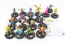 Heroclix Guerra de la Trinidad DC CUR 18 figuras mera Flecha Verde Firestorm Stargirl